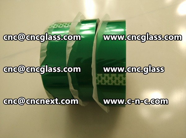 SAFETY GLAZING PET GREEN TAPE (4)