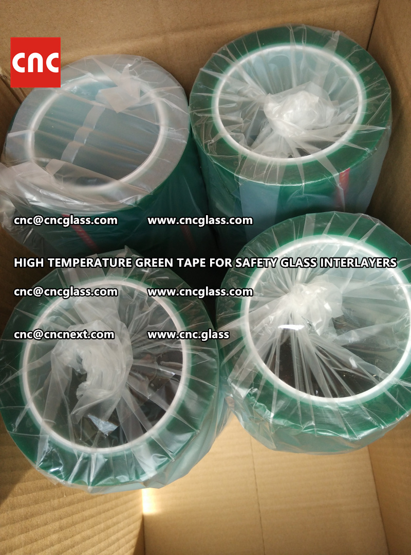 HIGH TEMPERATURE TAPE for safety glass lamination (2)