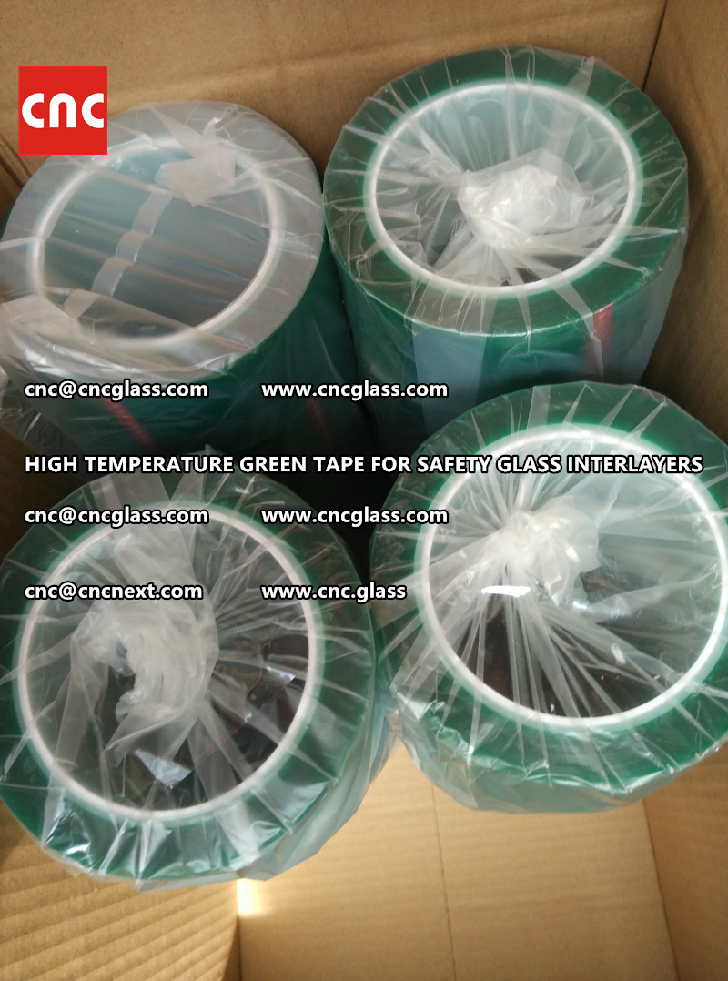 HIGH TEMPERATURE TAPE for safety glass lamination (3)