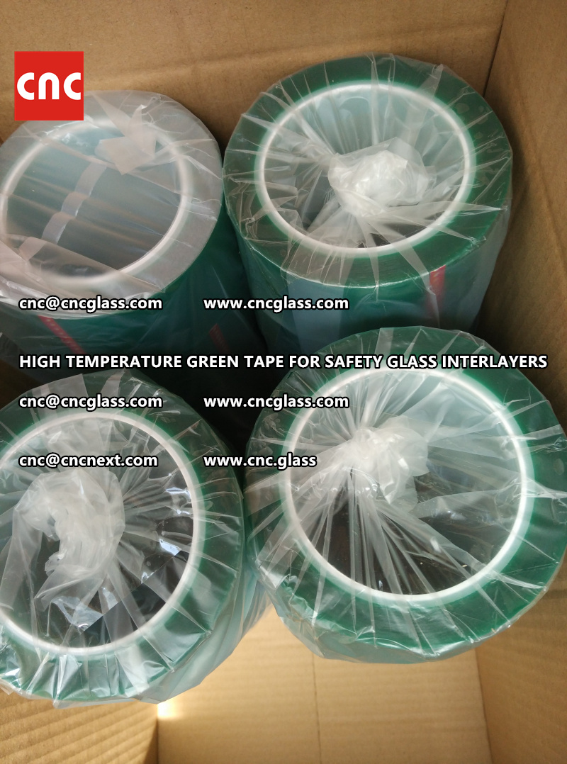 HIGH TEMPERATURE TAPE for safety glass lamination (4)