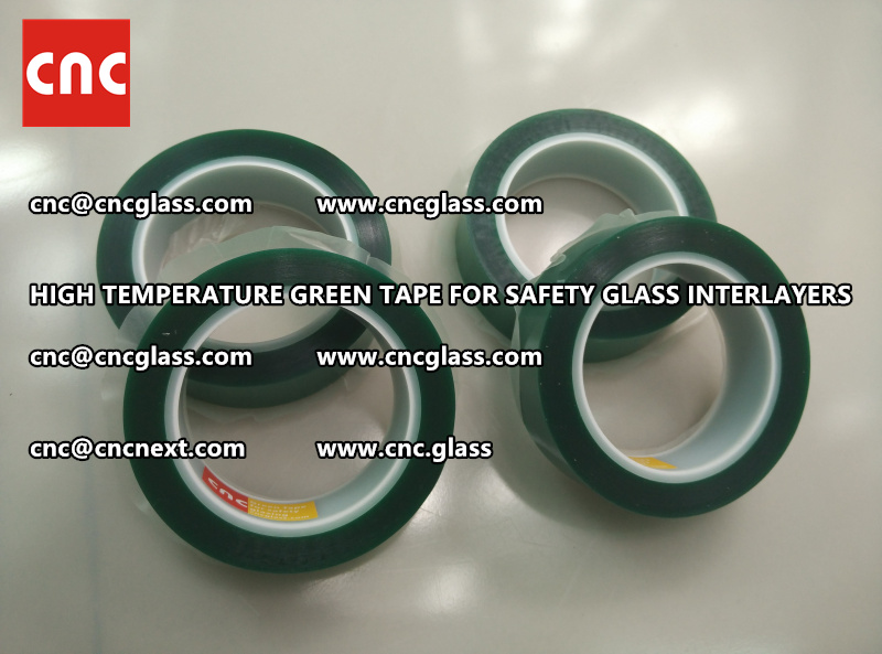 HIGH TEMPERATURE TAPE for safety glass lamination (5)