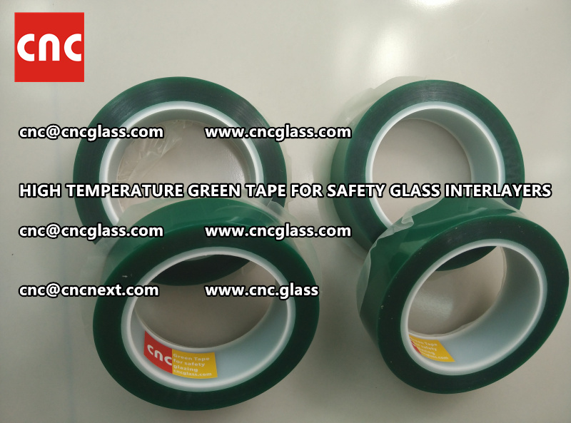 Polyester (PET) film backing TAPE for safety glass interlayers films lamination (6)
