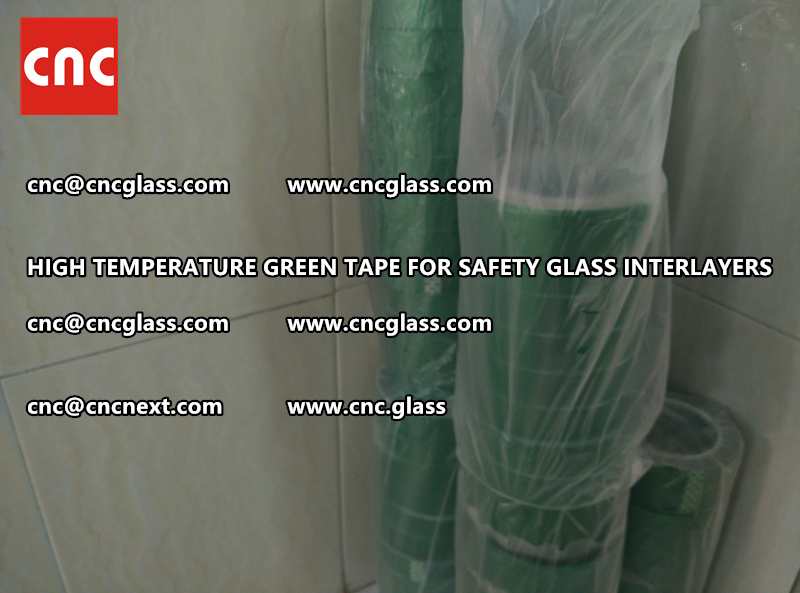 Polyester (PET) film backing TAPE for safety glass interlayers films lamination (9)