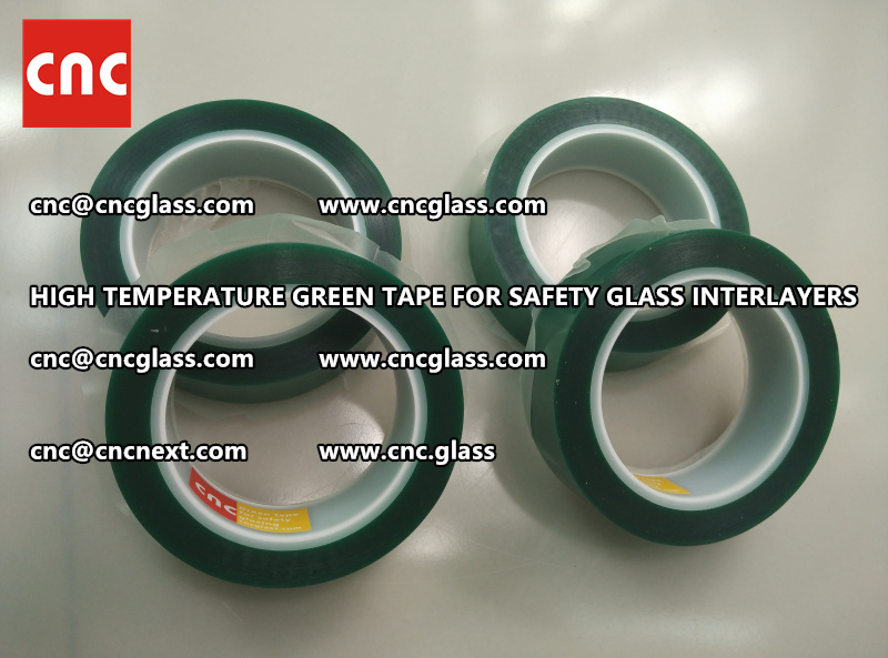 Silicone adhesive GREEN TAPE for safety interlayers lamination (1)