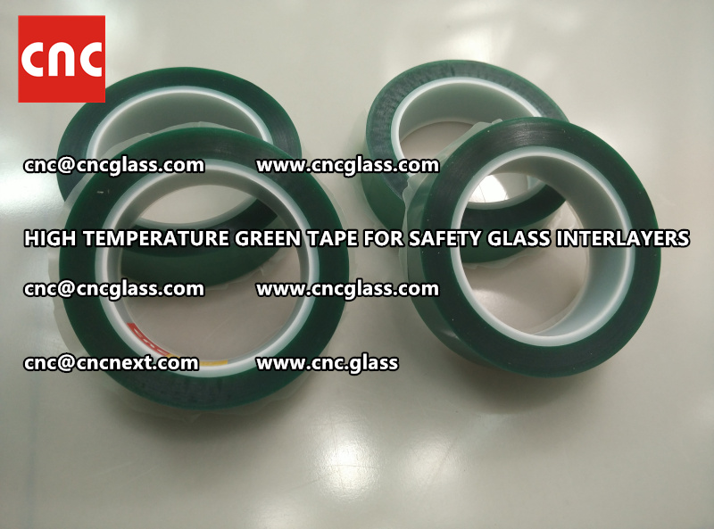 Silicone adhesive GREEN TAPE for safety interlayers lamination (2)