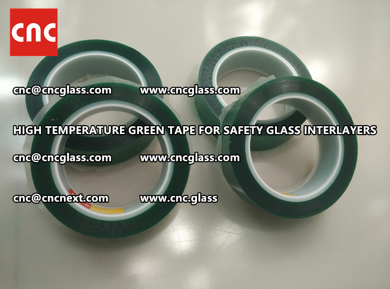 Silicone adhesive GREEN TAPE for safety interlayers lamination (3)