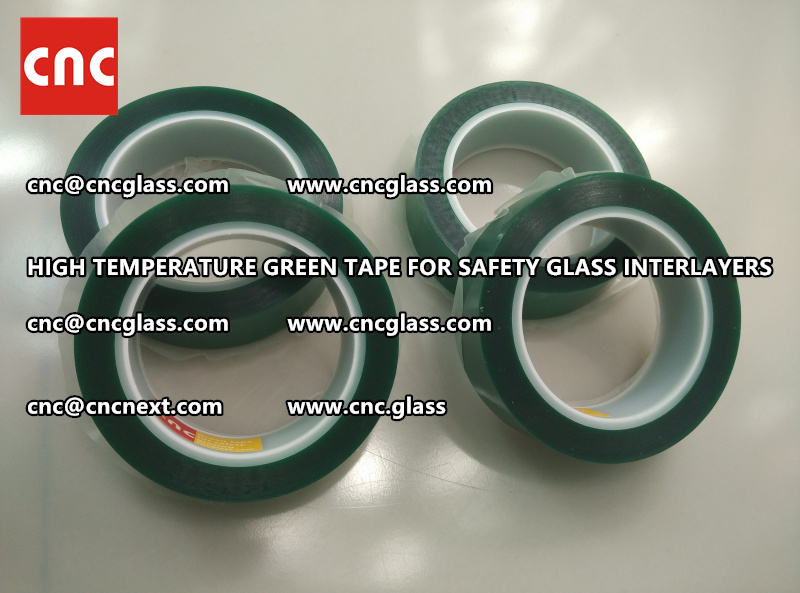 Silicone adhesive GREEN TAPE for safety interlayers lamination (4)