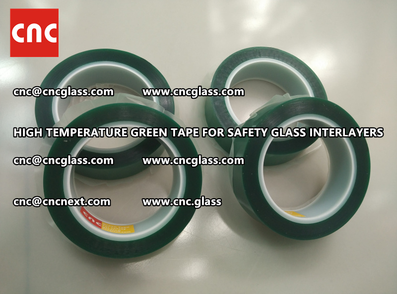 Silicone adhesive GREEN TAPE for safety interlayers lamination (5)