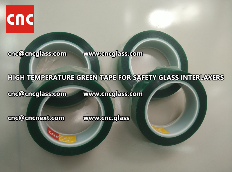 Silicone adhesive PET TAPE for safety interlayers films laminating (1)